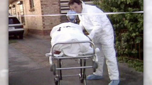 Phyllis Harrison died of multiple stab wounds in her home.