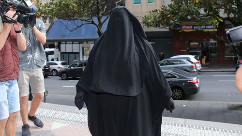 Moutia Elzahed has been found guilty of disrespectful behaviour after refusing to stand for a judge. (AAP)