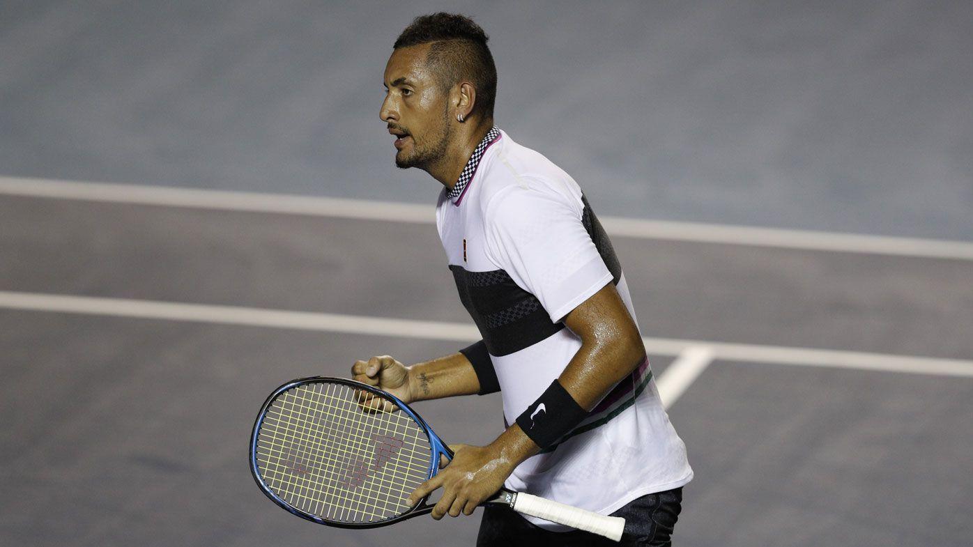 Kyrgios beats Zverev in Mexican Open final