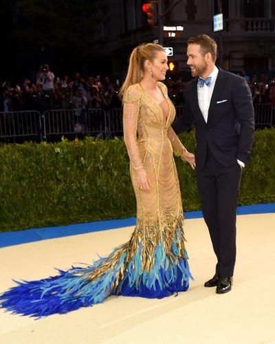 Ryan Reynolds and Blake Lively in Atelier Versace and at the 2017 Met Gala, Rei Kawakubo/Comme des Garcons: Art Of The In-Between