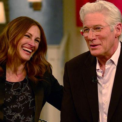 Julia Roberts and Richard Gere: Now…