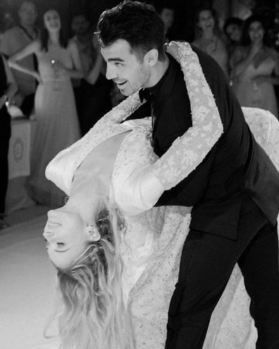 Joe Jonas and Sophie Turner share their wedding photos.