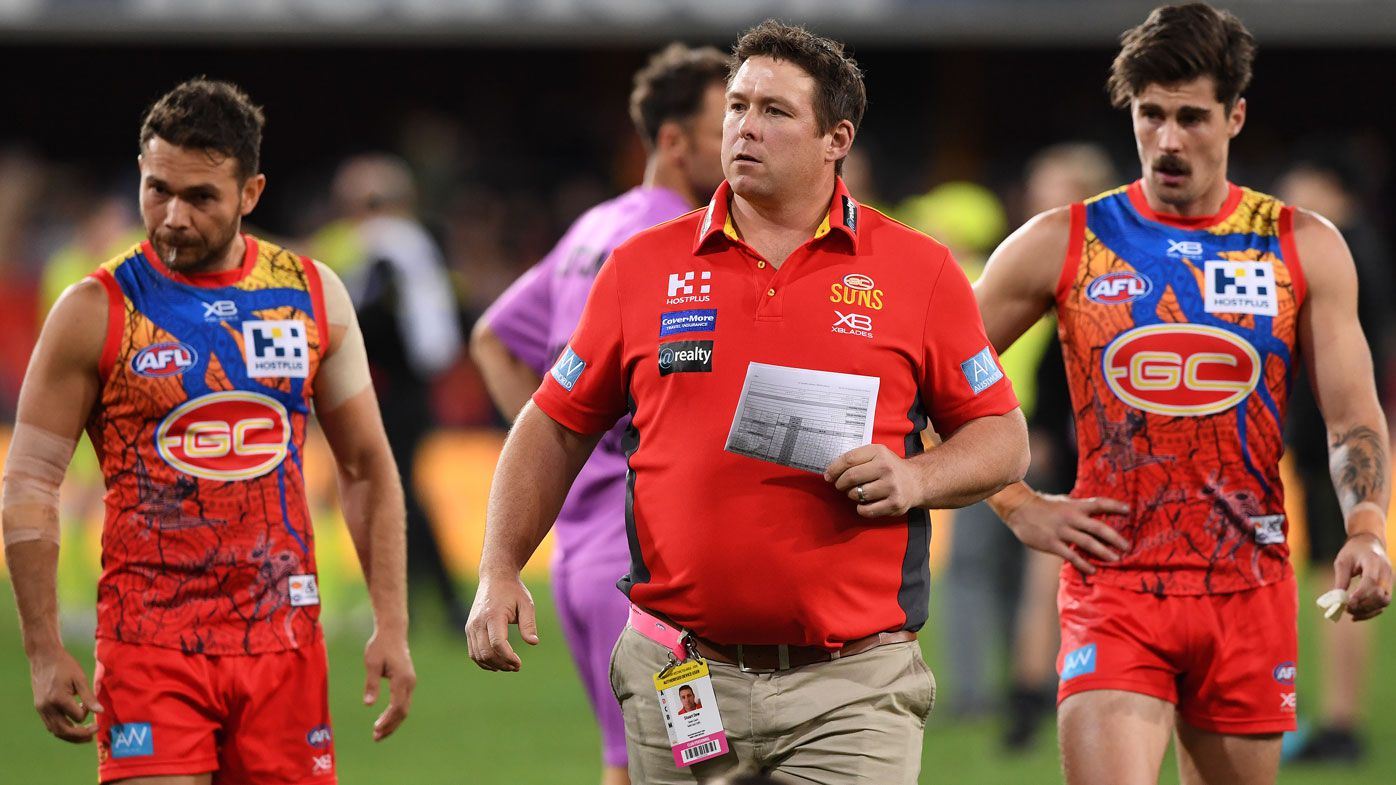 Gold Coast Suns must trade pick for experience, says former coach Rodney Eade