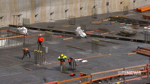 Population in the corridor between greater Parramatta and central Sydney is expected to swell by half a million in twenty years. Picture: 9NEWS