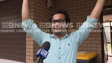 Saurev Raul said his Toyota Yaris was stolen by carjackers in Brisbane on Tuesday night.