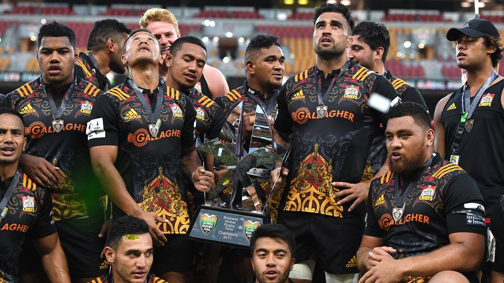Chiefs honour Lauaki with Tens title win