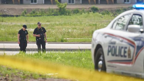 Police say they believe the crash was a racially motivated crime.