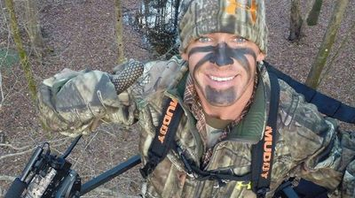"""Here he is ladies ... the winner of our 2014 Hottest Hunter, Mr Trey Moore,"" Jones posted on her Facebook page last night with a photo."