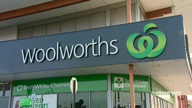 Trusk allegedly brioke into Woolworths Schofields store on Christmas Day and stole food and drinks donated for firefighters.