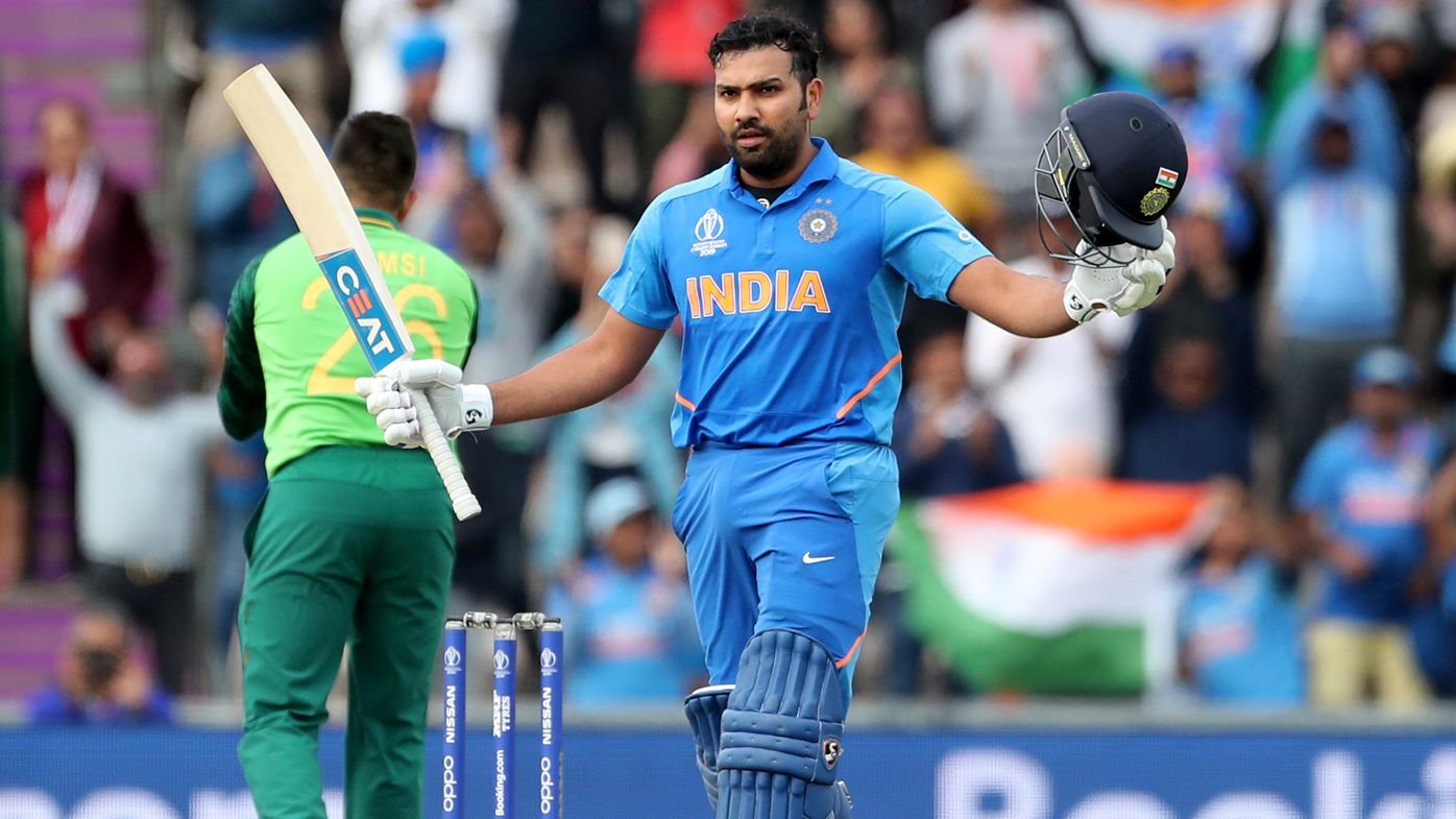 Rohit Sharma masterclass guides India to victory over South Africa at World Cup