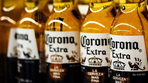 Corona beer bottles