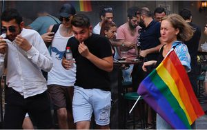 Police use tear gas on activists at LGBTQI event in Turkey