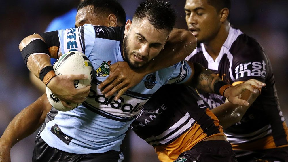 Parramatta have declared their interest in signing Jack Bird from the Sharks. (Getty Images)