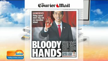 "The Australian media has universally condemned the executions of Andrew Chan and Myuran Sukumaran, with Brisbane's Courier Mail (pictured) taking a particularly hard stance against Indonesia's President Joko Widodo. <br _tmplitem=""34"">Click through to see how Australian and Indonesian media reported on the executions. (9NEWS)"