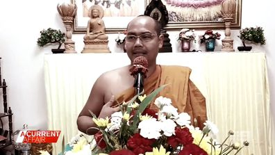 Monk taken to court after accusations he splurged at sex toy shop.