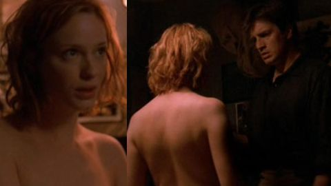 Christina Hendricks in Firefly