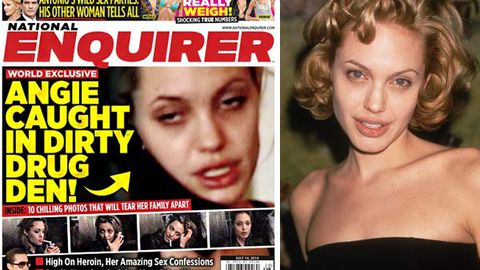 Shocking new footage reveals Angelina Jolie's 'dirty' heroin and cocaine past
