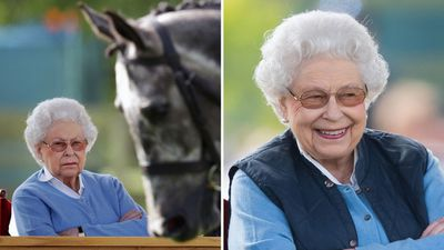 Queen Elizabeth attends the Royal Windsor Horse Show, May 2018
