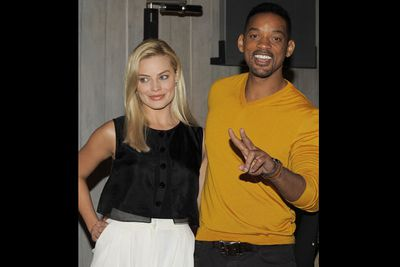 """Romance rumours with Will Smith sparked in November 2013, after <i>Star</i>  magazine obtained a series of pics of the pair goofing off in a photobooth.<br/><br/>""""Been working [on <i>Focus</i>] non-stop,"""" Margot Tweeted at the time. """"Just catching my breath. There's absolutely no truth to the ridiculous rumour in <i>Star</i> mag. It's disappointing that goofing around on set could be taken so out of context.""""<br/><br/>(Image: Getty)"""