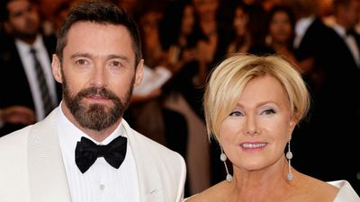 Deborra-Lee Furness with husband Hugh Jackman. (AAP)
