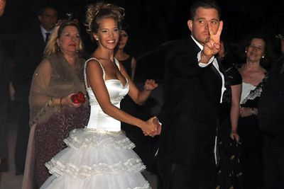<b>Michael Bublé</b> married fiancée <b>Luisana Lopilato</b> in a civil wedding ceremony in Buenos Aires in a small civil ceremony in April.