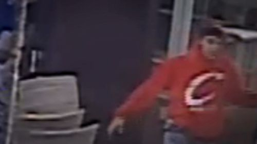 The third teenager was wearing a red jumper. Picture: 9NEWS