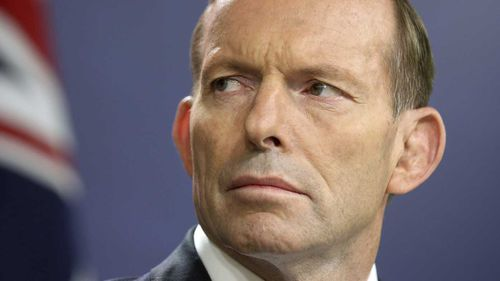 Former prime minister and Liberal MP Tony Abbott.