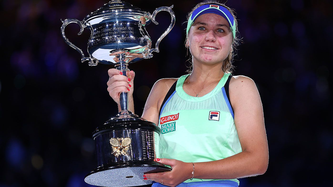 Australian Open: Why Sofia Kenin found tennis hiatus tougher than most