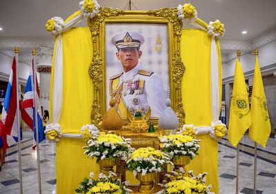 Tributes fill the streets of Bangkok as King Maha Vajiralongkorn Bodindradebayavarangkun is celebrated in the lead up to his Royal Coronation.