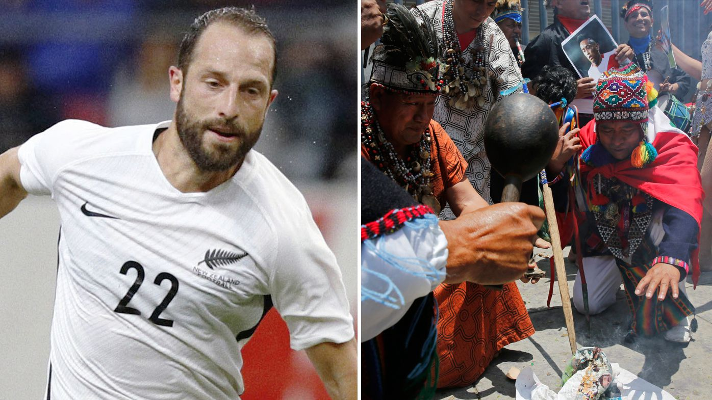 World Cup 2018: Peru use witch doctors, jets and fireworks to put off New Zealand