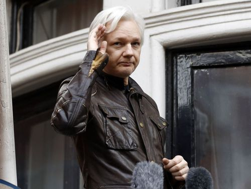 Julian Assange has been holed up in the Ecuador embassy in London since 2012.