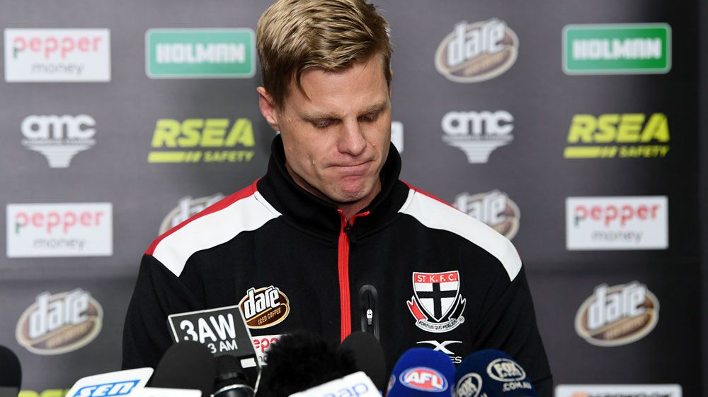'I feel like I've lost a friend': AFL Footy Classified panel pay tribute to retiring Nick Riewoldt