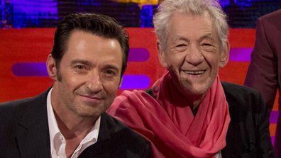 Hugh Jackman and Sir Ian McKellen.