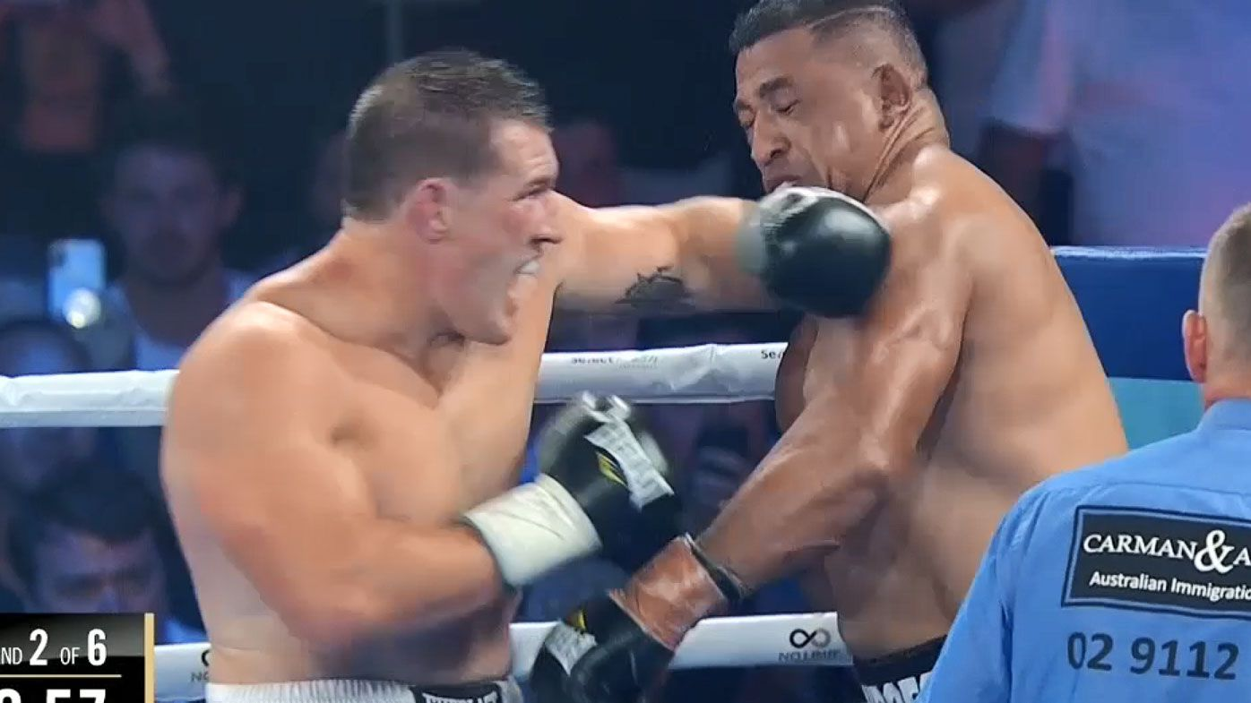 Gallen defeats Hopoate