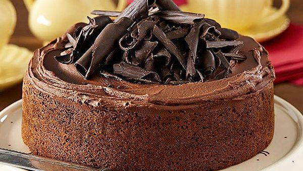 The original 'one bowl' chocolate cake