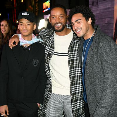 Will Smith and sons Jaden and Trey