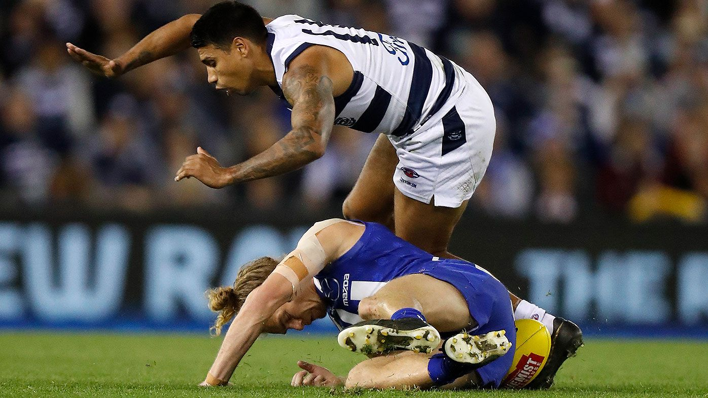 Jude Bolton calls for AFL to address below the knees rule
