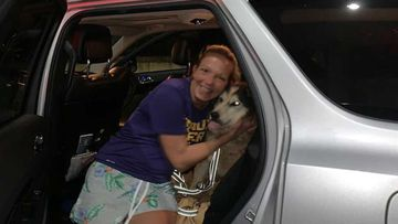 The Knox County Sheriff posted this photo of Oreo being reunited with its owner.