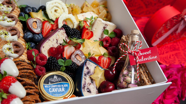 TLC Catering Sydney Valentine's Day luxury food hamper