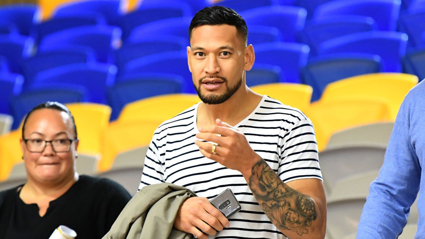 Tonga coach opens door for Israel Folau selection after league return