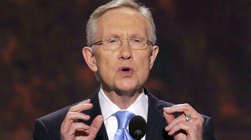 Senate Majority Leader Harry Reid. (AAP)
