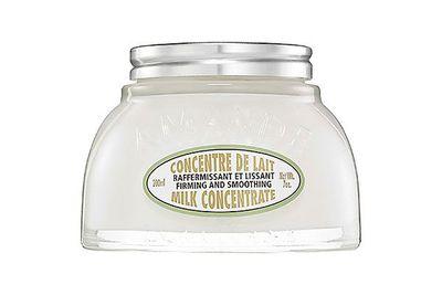 "<a href=""https://au.loccitane.com/almond-milk-concentrate-body-moisturiser,23,1,1236,598737.htm"" target=""_blank"">L'Occitane En Provence Almond Milk Concentrate 200ml, $65</a>"