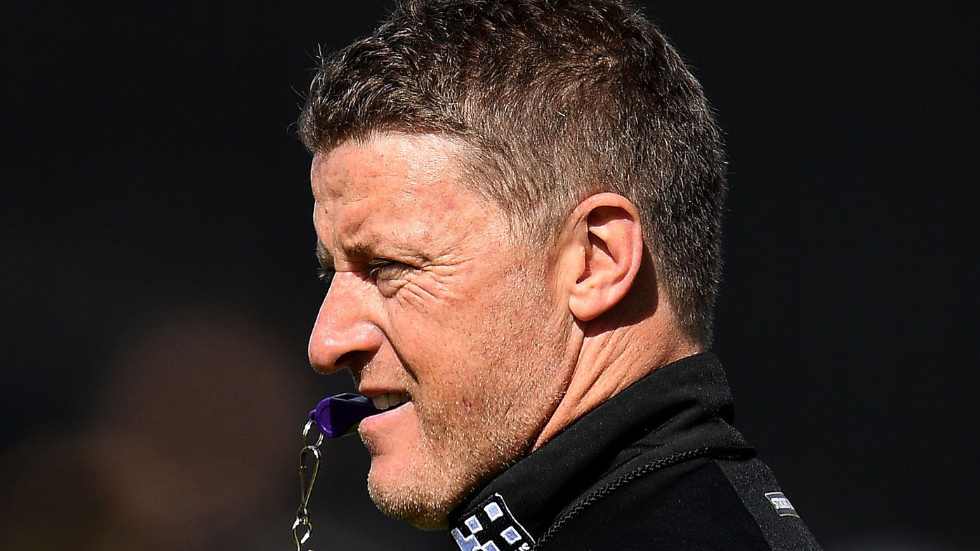 Damien Hardwick wants AFL fans out of his face