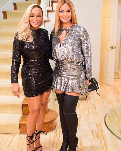 Real Housewives of Potomac stars Karen Huger and Gizelle Bryant.