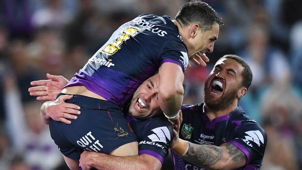 Ruthless Melbourne Storm blow away North Queensland in NRL grand final