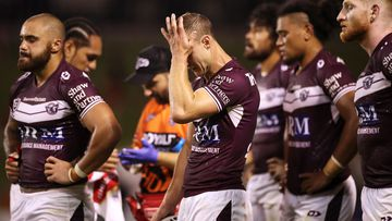 Manly fall to the Dragons in Wollongong. (Getty)