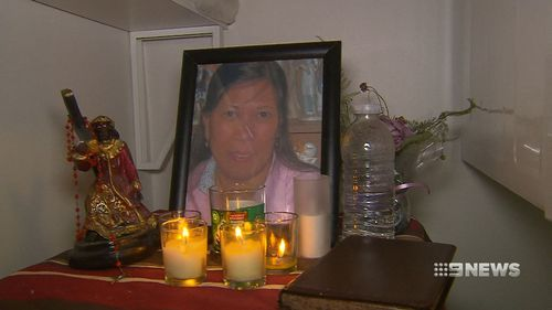 It's believed the accused's three children were at home at the time of Myrna Nilsson's alleged murder. (9NEWS)