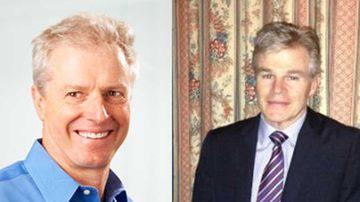 Missing: Dr Paul Bates (left) and Dr Christopher Dalton. (Supplied)