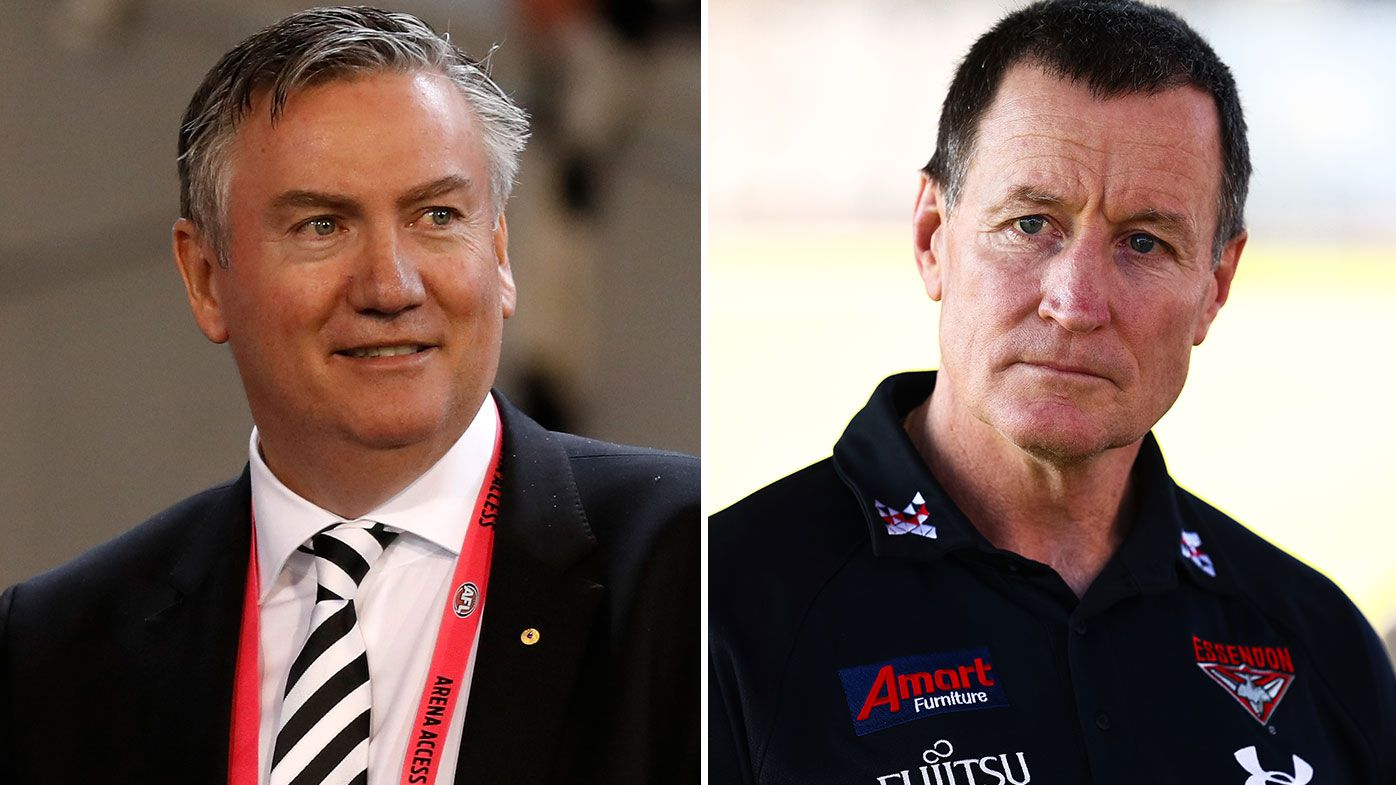 Eddie McGuire says Essendon coach John Worsfold has left the club 'the greatest bomb of all-time'