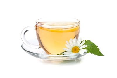 Chamomile, ginger, or peppermint tea